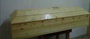 pine casket